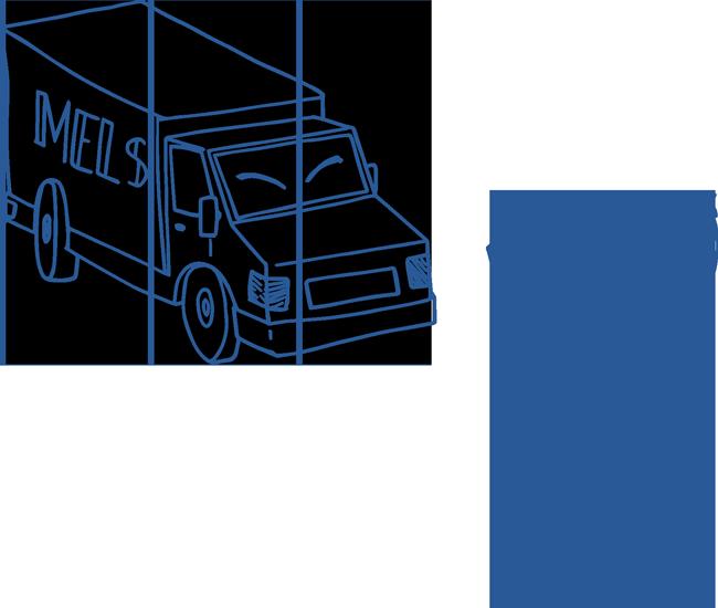 Zeichnung Transporte